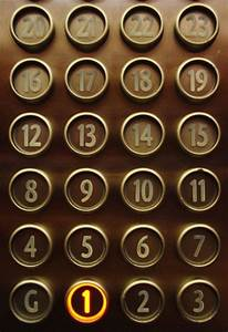 Elevator, Numbers and Hotels on Pinterest