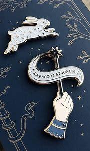 Patronus Enamel Pin Set | Harry potter pin, Harry potter ...