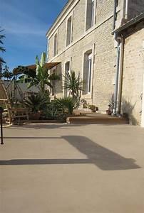 Sol Pour Terrasse : b ton cir terrasse piscine sol ext rieur b ton ~ Edinachiropracticcenter.com Idées de Décoration