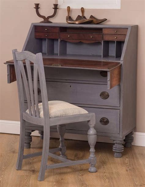 ebay bureau vintage shabby chic writing bureau desk painted in