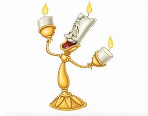 Lumiere the Candlelabrum Beauty and the Beast Pinterest