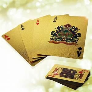 Gold Berechnen : goldenes kartenspiel berzogen mit einer folie aus echtem gold ~ Themetempest.com Abrechnung