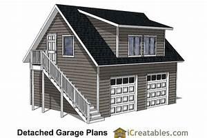 Custom Garage Plans - Storage Shed