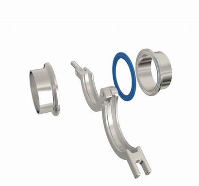 Sanitary Fittings Clamp Line Pipe Stainless Tube