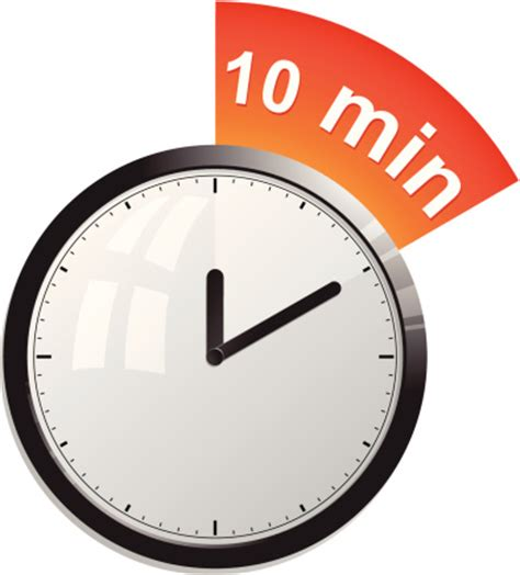 Timer 10 Minutes Vector Art  Getty Images