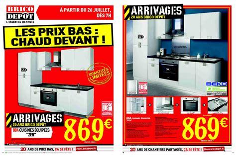 Prix D Une Cuisine Cuisinella - cuisine en kit brico depot