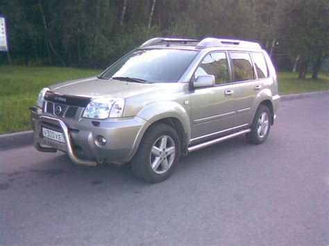 nissan x trail 2005 2005 nissan x trail pictures 2 5l gasoline automatic