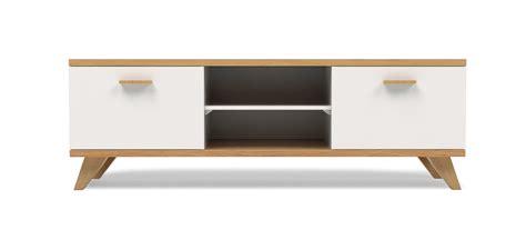 cuisine style usine meuble tv style scandinave milow bois pas cher