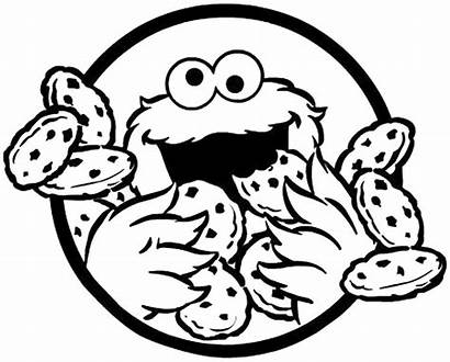 Cookie Coloring Monster Printable Getcoloringpages Pages Sheets