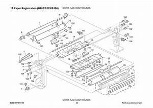 Ricoh Aficio 3228c 3235 3245 B202 B178 B180 Parts Catalog