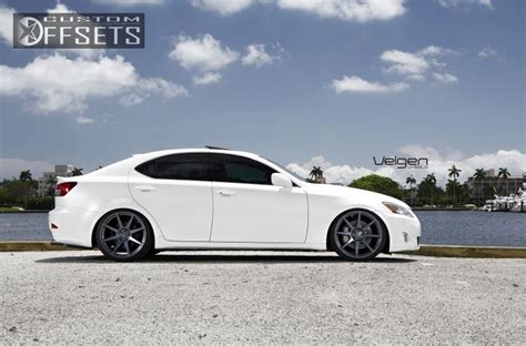 lexus is350 custom wheel offset 2010 lexus is 350 flush dropped 1 3 custom rims