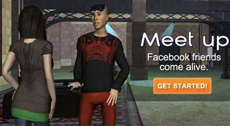 virtual chat vivaty brings  facebook friends  life
