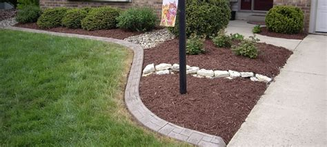 decorative curb and concrete fort wayne decorative curbing concrete curbing and