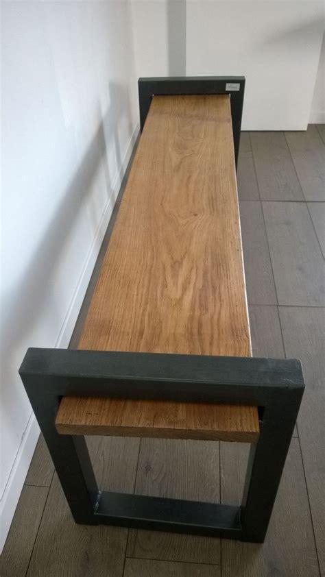 banc de cuisine design banc industriel banc bois et métal banc vintage banc