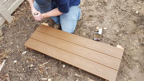 The pedestals allow for a suitable level of airflow underneath the decking, as well as spreading the weight of the decking. Trex Raised Bed Garden DIY