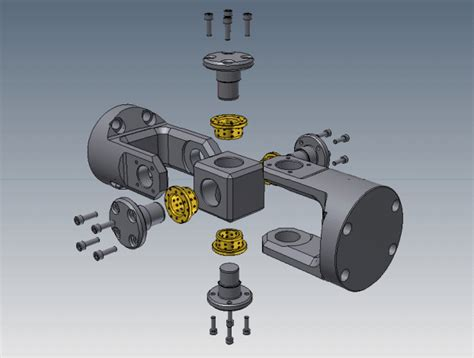 universal joint graphite bushes step igesstl