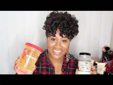 ♥products For Transitioning From Relaxed To Natural Hair
