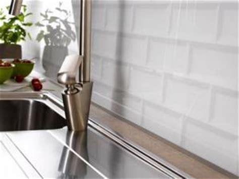 cr馘ence cuisine verre sur mesure credence adhesive leroy merlin maison design bahbe com