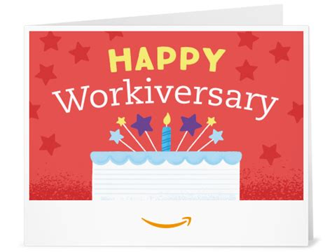 Amazon M Amazon  Ee  Gift Ee    Ee  Card Ee   Print Happy Workiversary