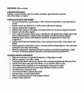 free job descriptions samples With creating job descriptions template
