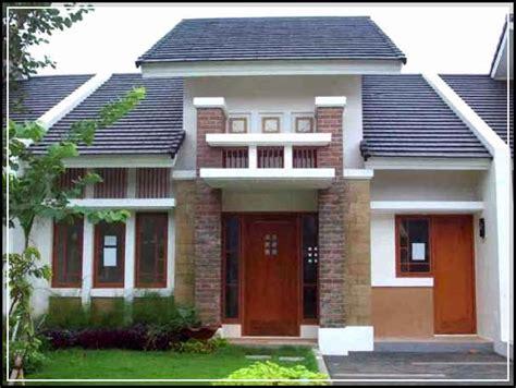 bentuk rumah minimalis modern mewah tampak depan