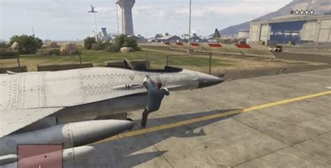 grand theft auto 5 fighter jet location guide