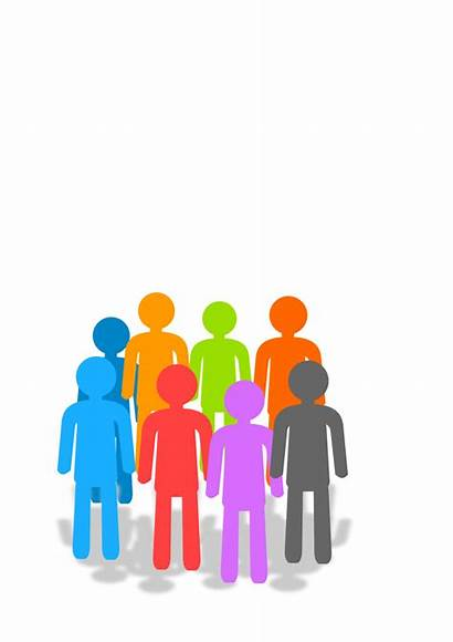 Gathering Social Clip Clipart Library Cliparts Population
