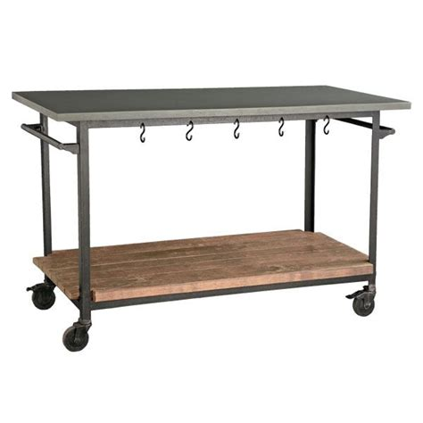 kitchen island rolling cart kitchen islands made from industrial carts let 39 s stay