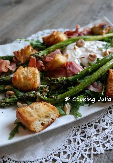cuisiner asperges vertes 1000 idées à propos de lard avec asperges sur