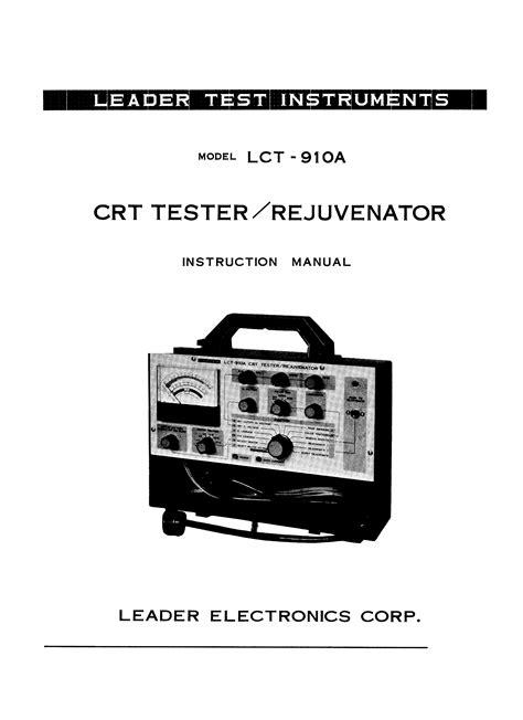 leader ldm  manual