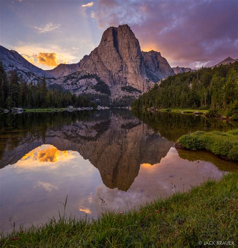 double cathedral wind river range wyoming mountain