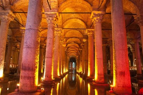 underground cisterns underground bascilica cistern