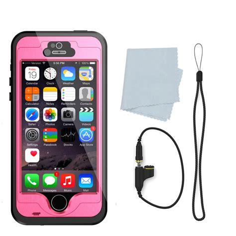 iphone 5s waterproof cases punkcase studstar pink apple iphone 5s 5 waterproof