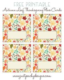 just peachy designs free printable thanksgiving place cards