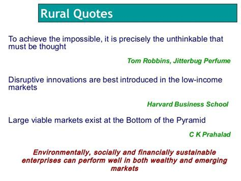 RURAL AREA QUOTES image quotes at hippoquotes.com