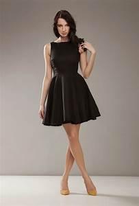 robe princesse noire avec jupe corolle With le clos de la robe