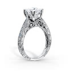 filigree engagement ring settings vintage inspired filigree engagement rings by kirk kara