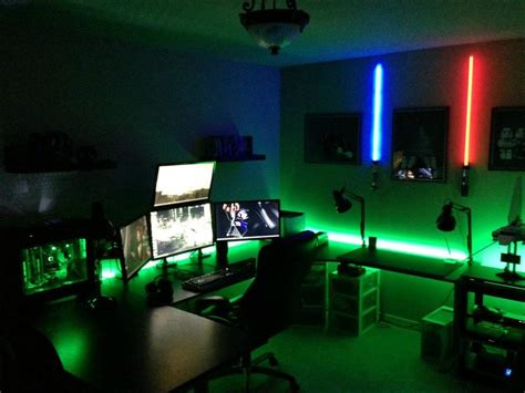 cool room lighting 22 amazing gaming room set ups