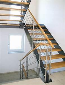 Geländer Für Treppe : treppe stahlwange gel nder f r au en ~ Michelbontemps.com Haus und Dekorationen
