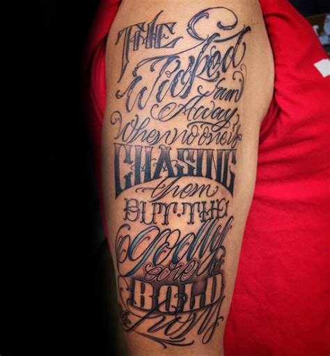 quote tattoos  men designs ideas  meaning tattoos