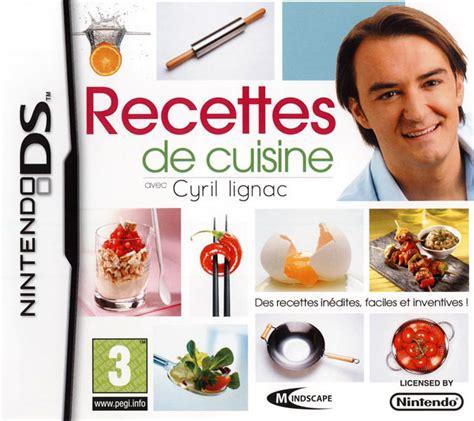 cyril lignac livre de cuisine 187 dossier la cuisine dans le jeu vid 233 o