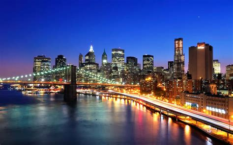 new york cityscape wallpaper wallpapersafari