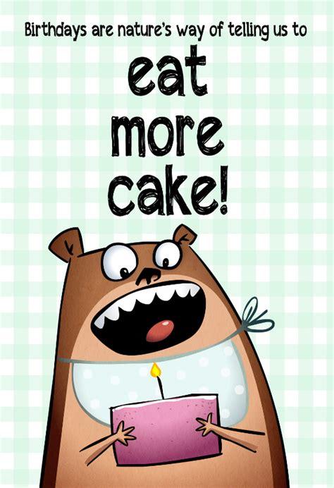 eat  cake  birthday card  island