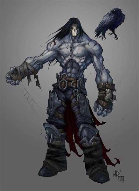 Darksiders Ii Death Character Development Sketches