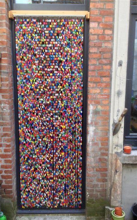 vliegengordijn paper bead beaded curtains diy