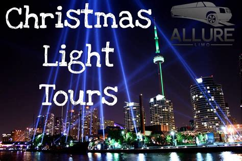 limo christmas light tour limousine christmas light tours allure limo