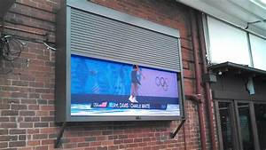 Omx Led Tv With Custom Roller Shutter