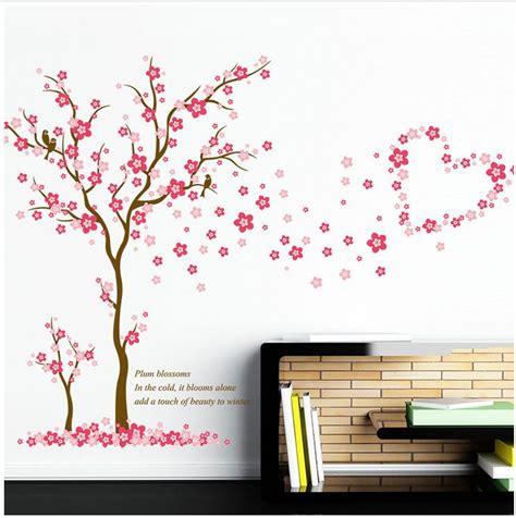 Wandtatto Kinderzimmer Mädchen by Wandtattoo M 228 Dchen Baum Herz Pink Rosa Blume Sticker