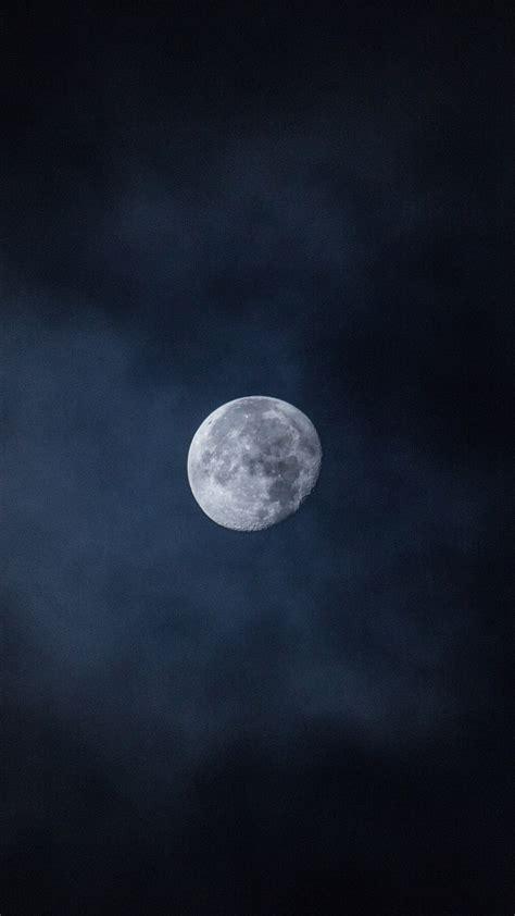 moon sky night space wallpaper