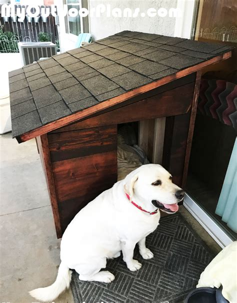 diy xl dog house myoutdoorplans  woodworking plans  projects diy shed wooden